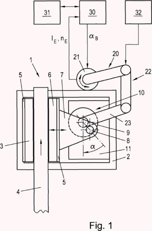 Procedimiento para accionar un freno de fricción accionado eléctricamente.