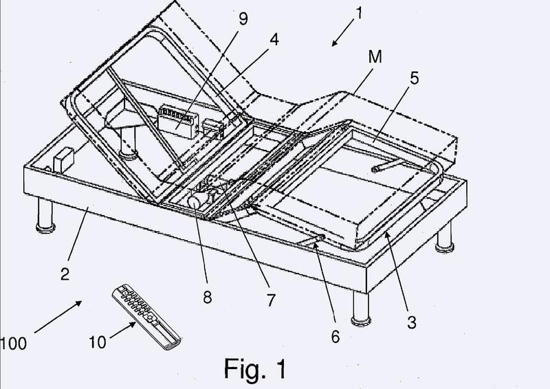 Disposición de muebles y procedimiento para el control en paralelo de dos accionamientos electromotrices para mueble de una disposición de muebles.