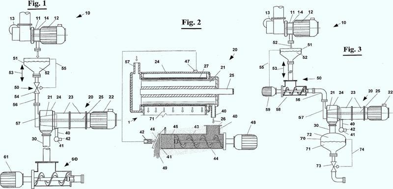 Máquinas para la industria alimentaria y en particular, se refiere a la extracción de zumo o puré a partir de alimentos.
