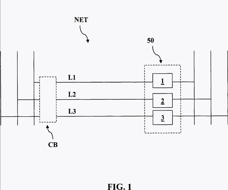 Aparato y método para el seccionamiento de los conductores de fase en una red de distribución de potencia eléctrica.
