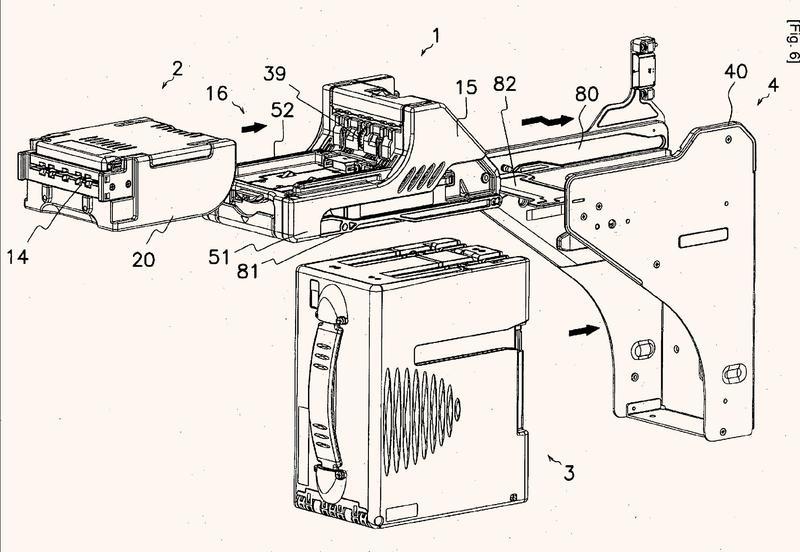 Manipulador de documentos compuesto por módulos.