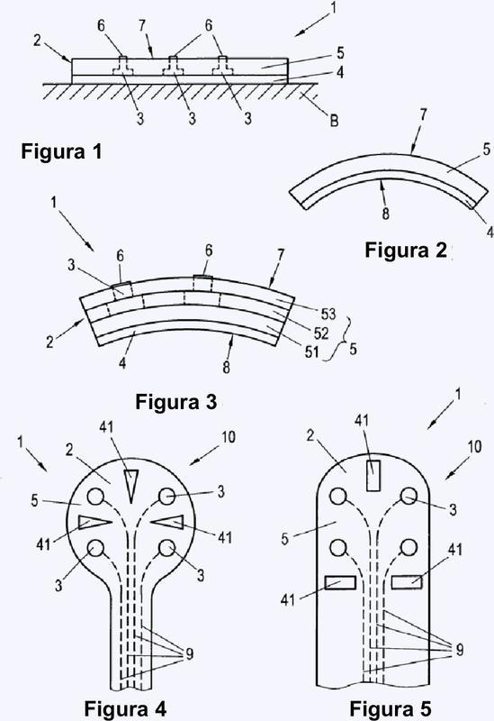 Matriz de electrodos y método para su fabricación.