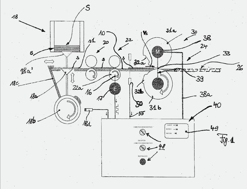 Estampación en relieve en una pieza de partida plana de metal (procedimiento y aparato).