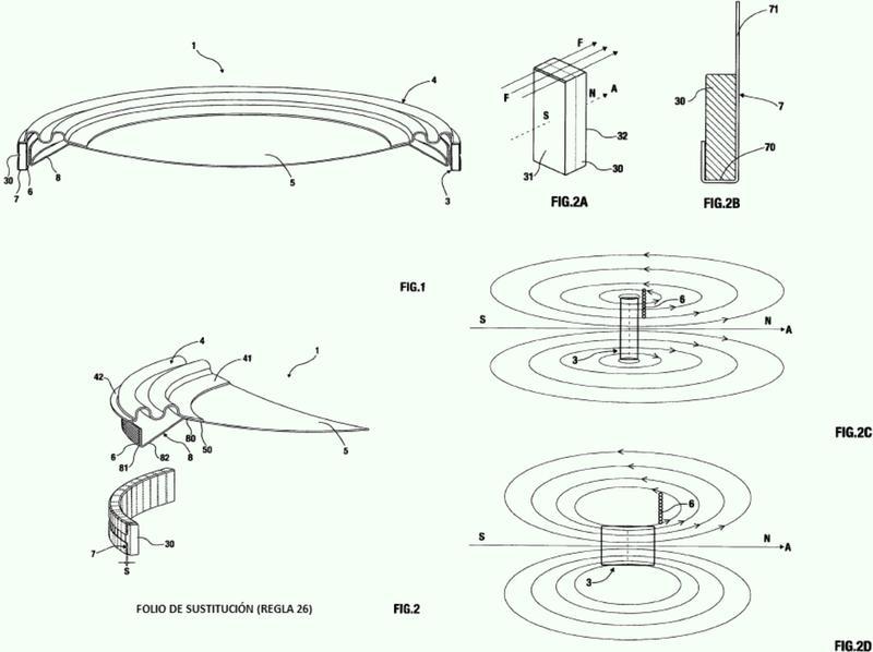 Transductor electromecánico - electroacústico de bajo espesor y alto alcance y su relevante procedimiento de fabricación.