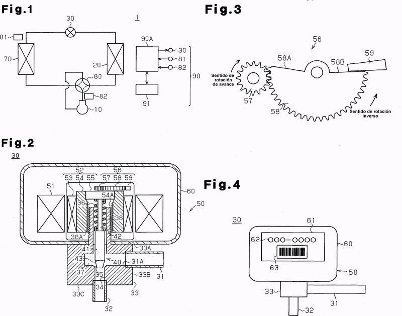 Válvula de expansión electrónica y acondicionador de aire provisto de válvula de expansión electrónica.