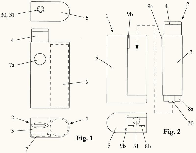 Componente de inhalador.