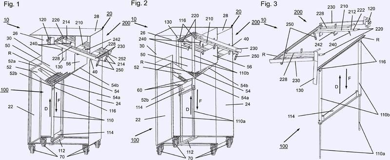 Dispositivo y procedimiento de separación.