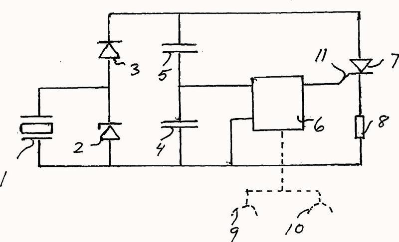 Un circuito de encendido y retardo.