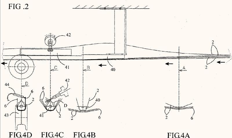 Máquina para la fabricación en continuo de cuerpos tubulares de cajas, en particular a base de cartón o similar.