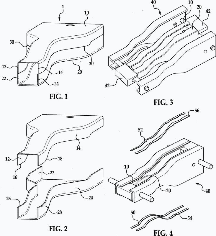 Elemento estructural hueco de sección cerrada unido a tope.