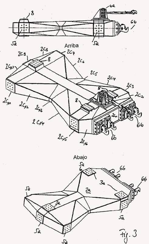 Dispositivo de prueba para aparatos de montaje sin eje, que se pueden enganchar en elevadores de fuerza de tres puntos.
