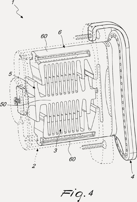 Dispositivo amortiguador del retroceso para armas de fuego portátiles.