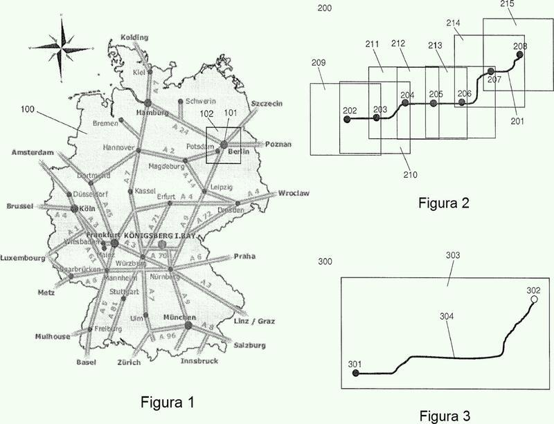 Procedimiento para actualizar los datos cartográficos de un dispositivo de navegación y dispositivo de navegación.