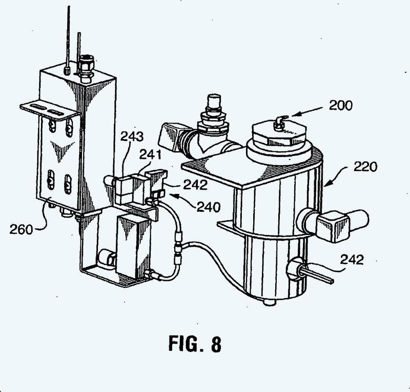 Recipiente y sistema de suministro de peróxido de hidrógeno.