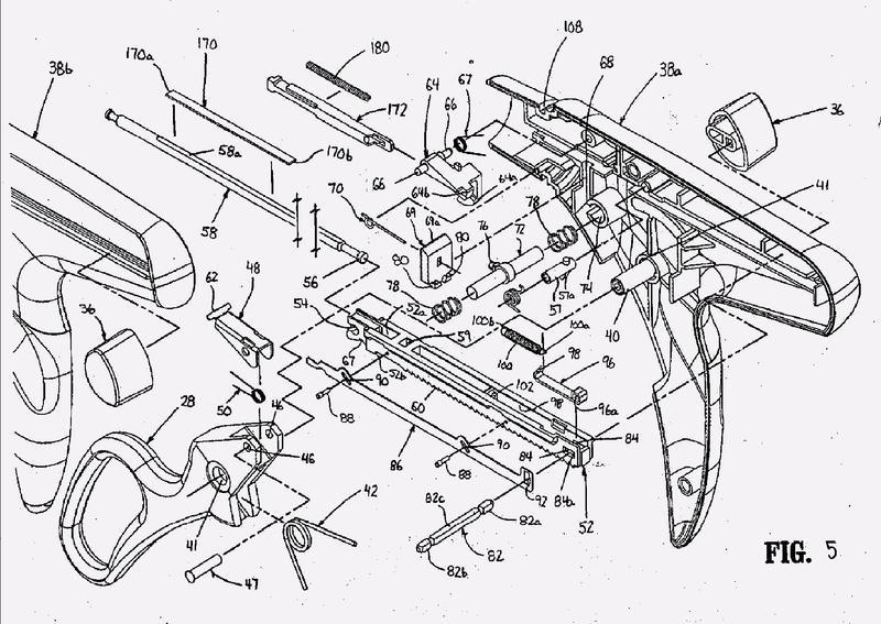 Dispositivo de grapado quirúrgico.