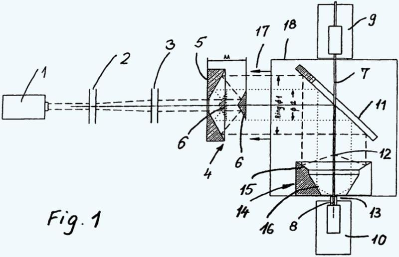 Dispositivo para juntar y estrechar fibras u otros componentes ópticos.
