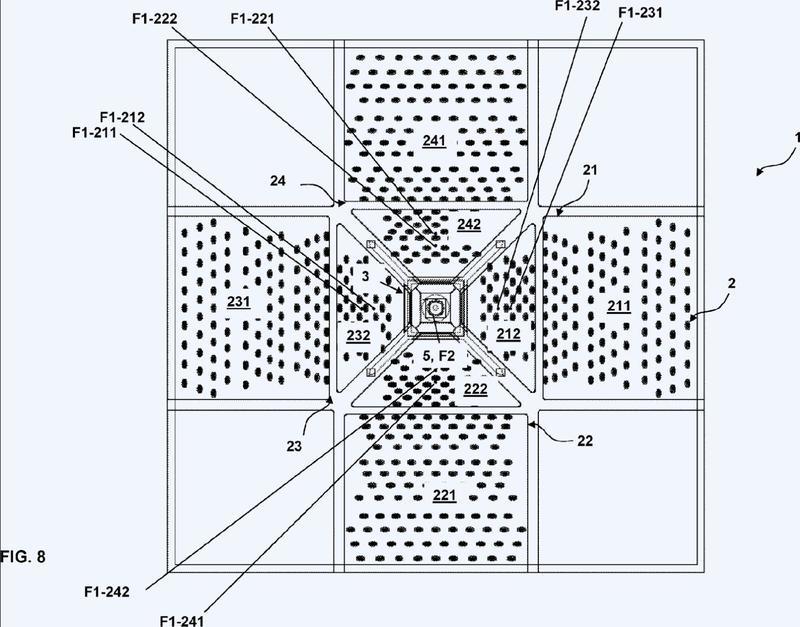 Conjunto óptico con alto nivel de eficiencia para el almacenamiento y el uso de energía de una fuente solar.