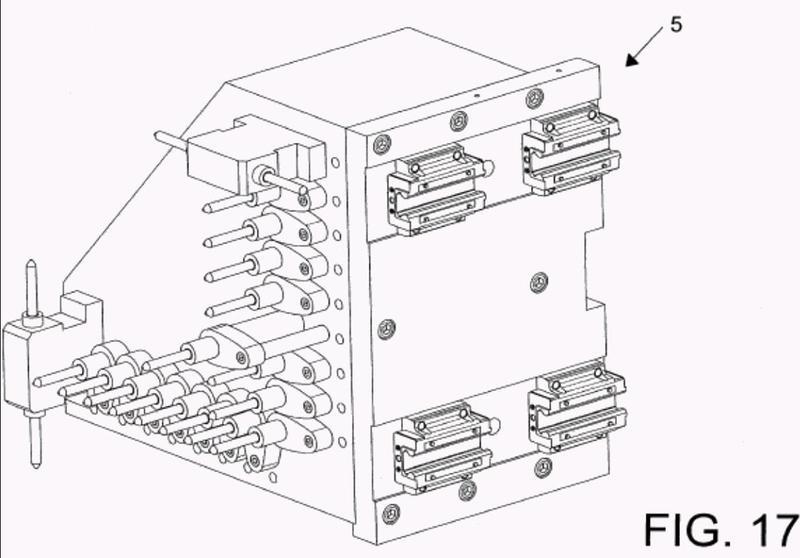 Aparato para procesar componentes de mobiliario, muebles y similares.