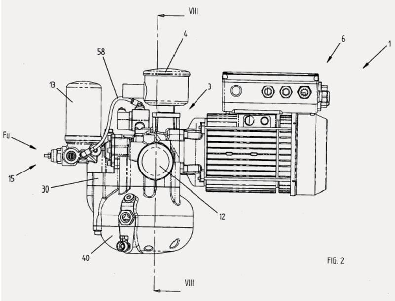 Compresor volumétrico de husillo.