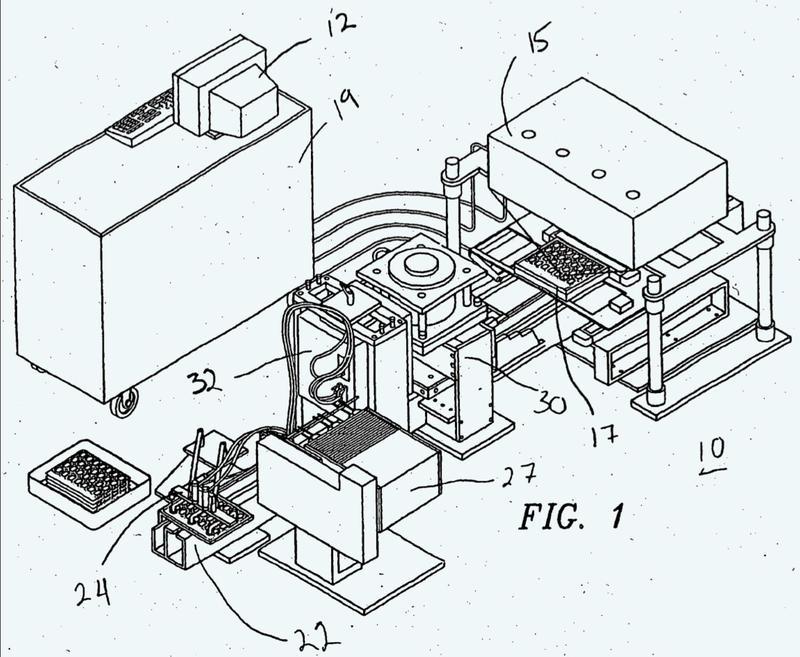 Máquina de envasado automático de productos farmacéuticos sólidos.