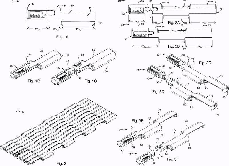 Banda modular, sistema de módulo de banda y procedimiento de montaje.