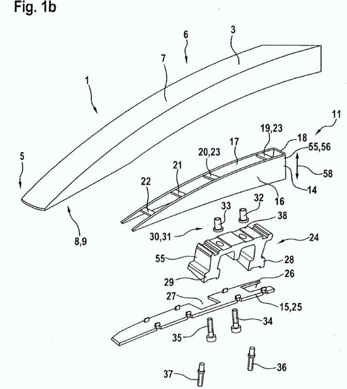 Barandilla de techo para un vehículo automóvil.
