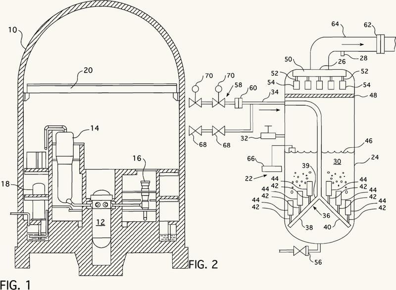 Filtro para un sistema de ventilación de contención de reactor nuclear.