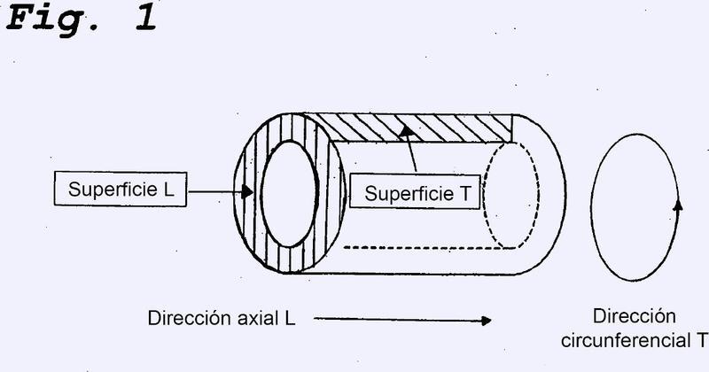 Tubo de acero para inflador de airbag y procedimiento de producción del mismo.