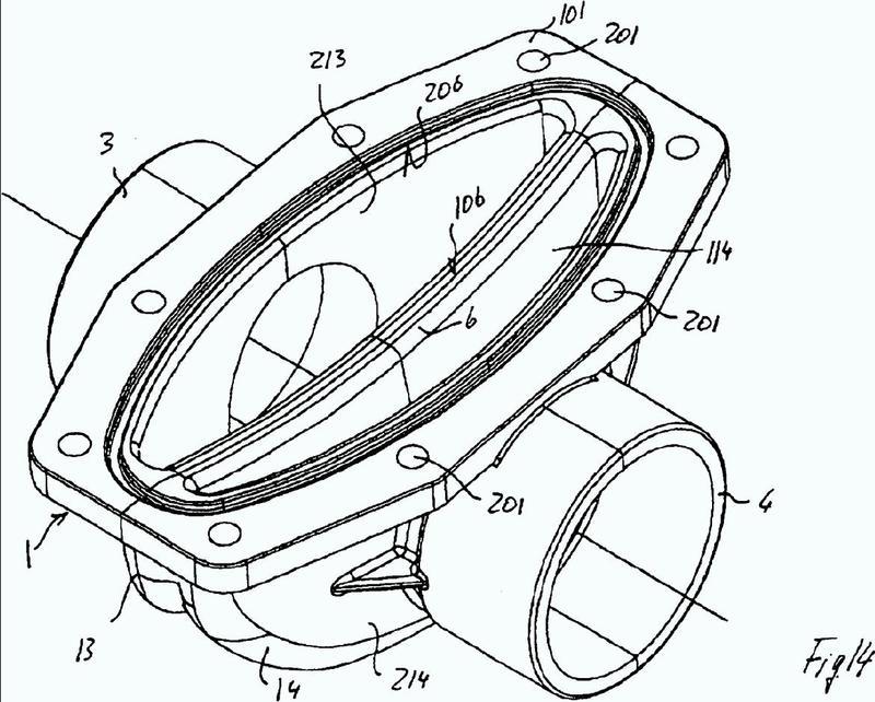 Válvula de diafragma y elemento de apertura/cierre para dicha válvula.