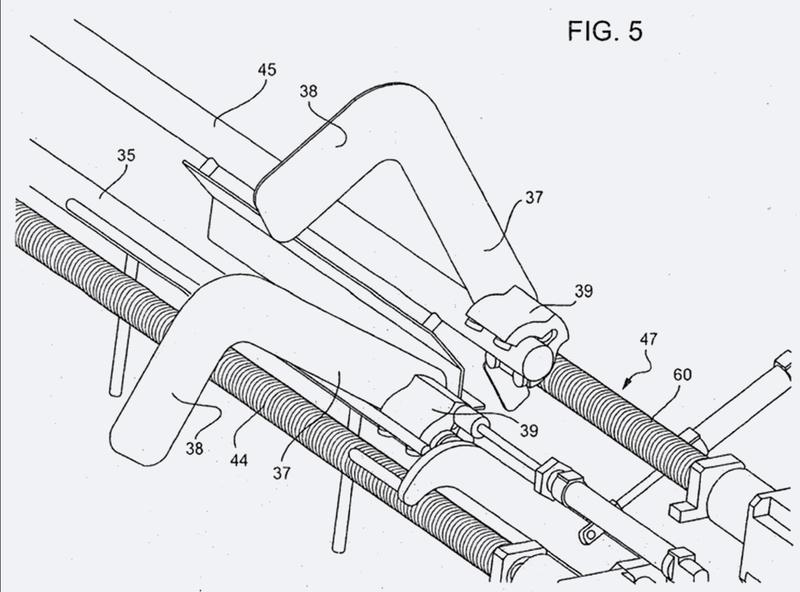 Dispositivo separador para objetos postales estándar y extendidos.