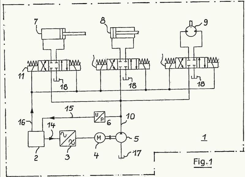 Procedimiento y dispositivo para la regulación del accionamiento de prensas embaladoras.