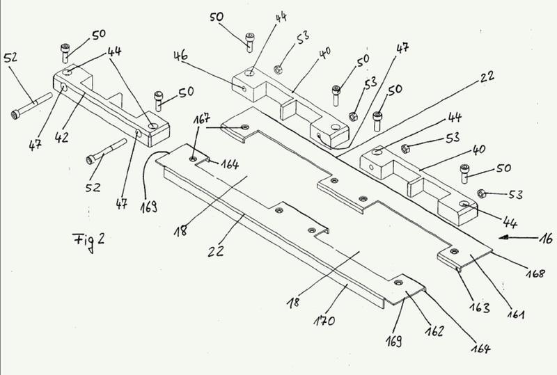 Dispositivo para la instalación de líneas de transmisión.
