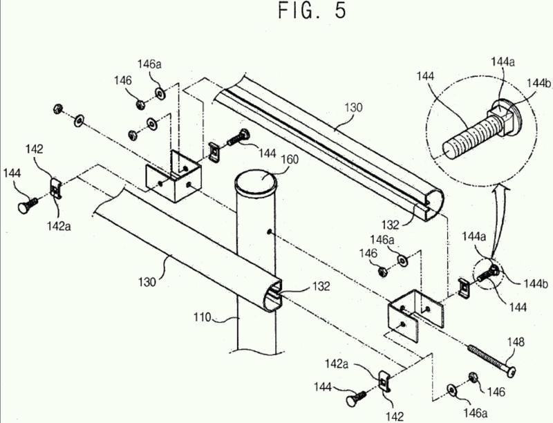 Conjunto de barrera de absorción de impactos.