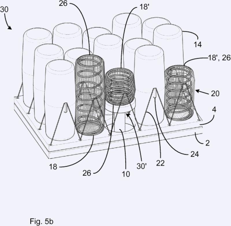Dispositivo de mueble con firmeza ajustable.