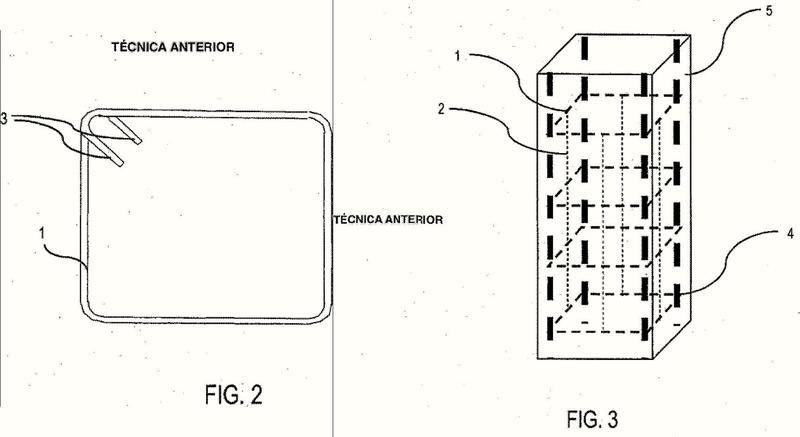 Estructura para reforzar hormigón y método para producir una estructura para reforzar hormigón.