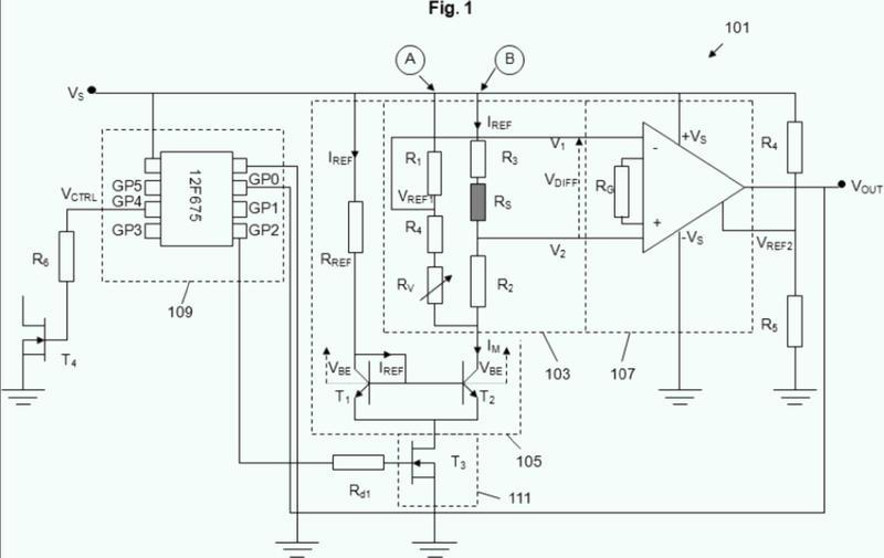 Sistema sensor de flujo.