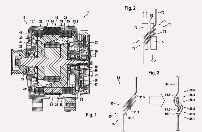 Método para producir un devanado del estator de una máquina eléctrica, en particular de un generador de corriente alterna.