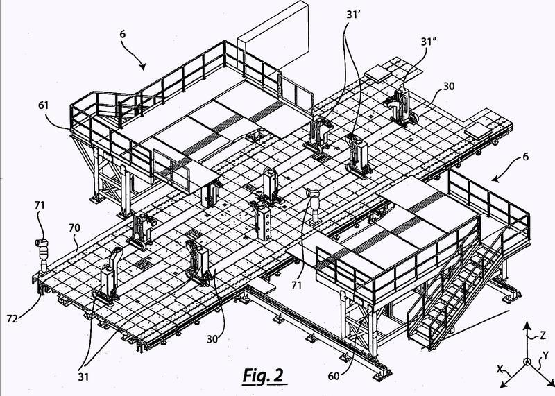 Sistema automatizado para unir partes de un chasis y método asociado.