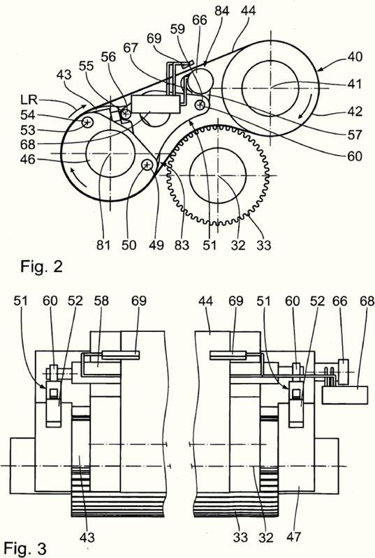 Instalación para la fabricación de una banda de cartón ondulado contracolada unilateralmente.