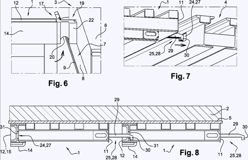 Piso provisional y amovible para la realización de losas de hormigón.