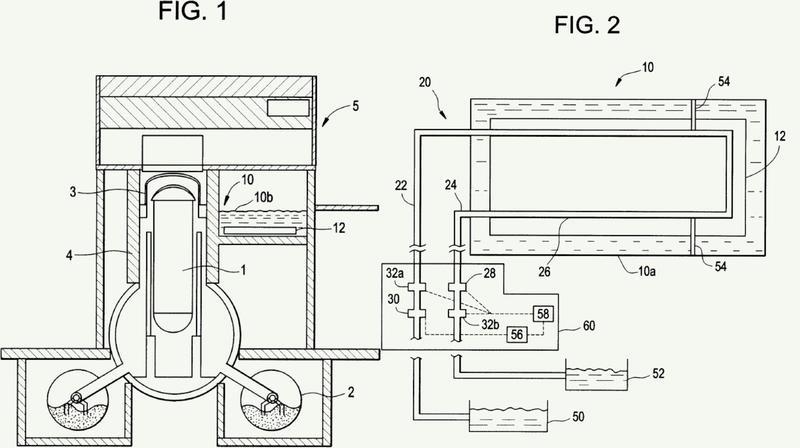 Procedimiento y aparato para un sistema de enfriamiento de piscinas de combustible gastado remoto alternativo para reactores de agua ligera.