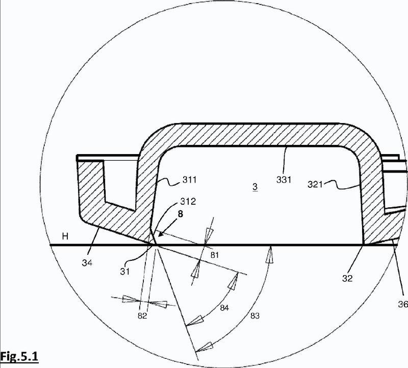Boquilla de aspiración para un aspirador o similar con dispositivo de elevación de polvo.