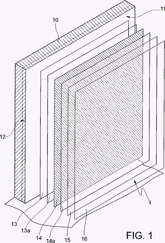Sistema de funda decorativa estanca al agua para paredes de ambientes húmedos, y método para hacerlo.