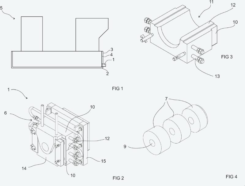 Ensamblaje de orificio, método para fabricar un ensamblaje de orificio, y horno metalúrgico.