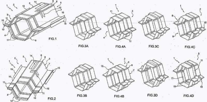 Parachoques para vehículo de motor.
