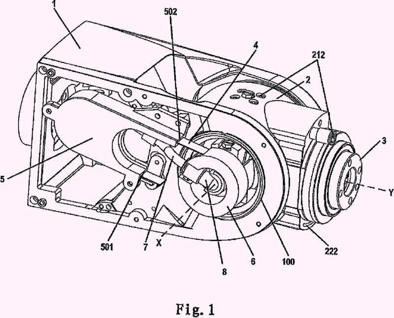 Estructura utilizada para un robot.