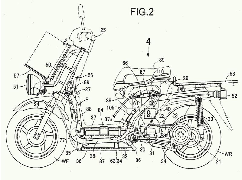 Vehículo de dos ruedas de propulsión eléctrica.