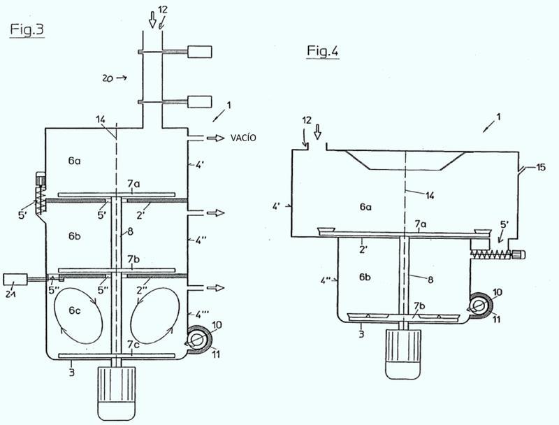 Dispositivo para el tratamiento de material sintético.
