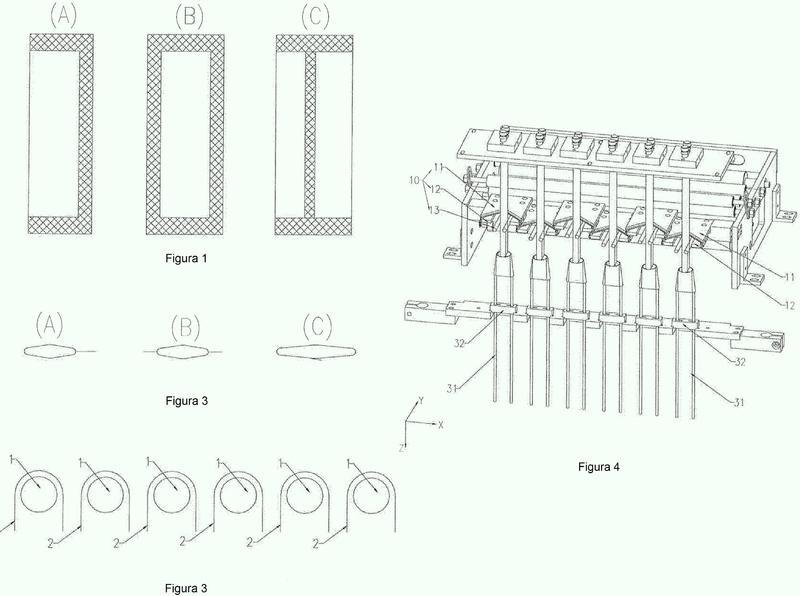 Nuevo dispositivo para la formación de bolsas y máquina de envasado.