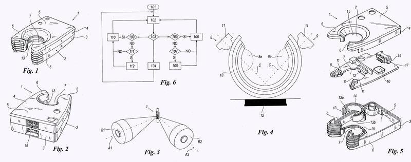 Dispositivo y procedimiento para detectar un cambio de bobina de suministro de hilado.